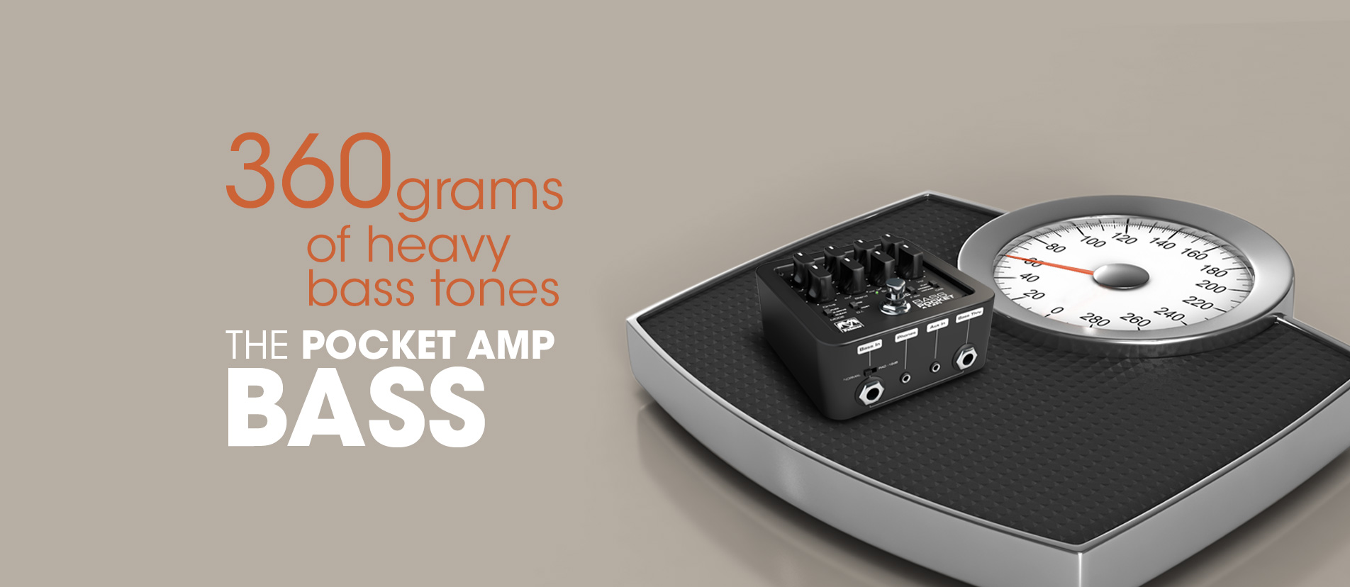 POCKET AMP BASS